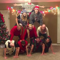 The fourth annual Christmas video of one Utah family has gone viral.