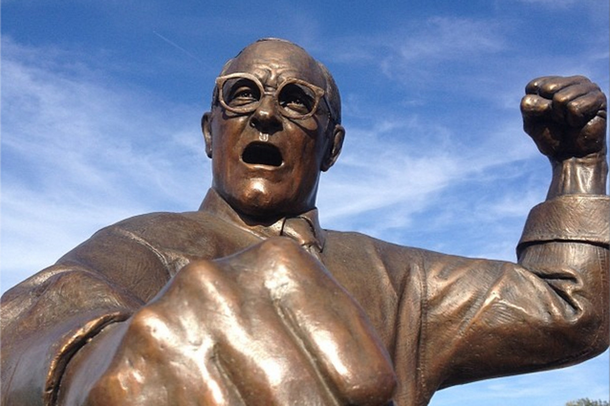 Dan Gable statue