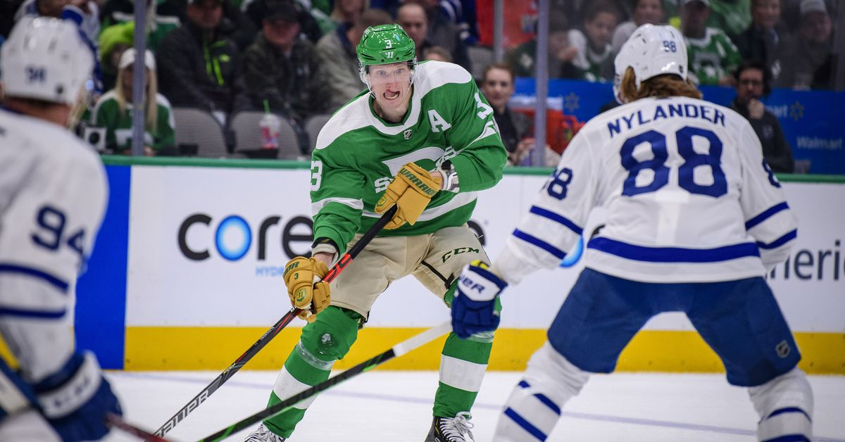 Gameday: Dallas Stars Kick Off Eastern Canada Trip Against Toronto Maple Leafs