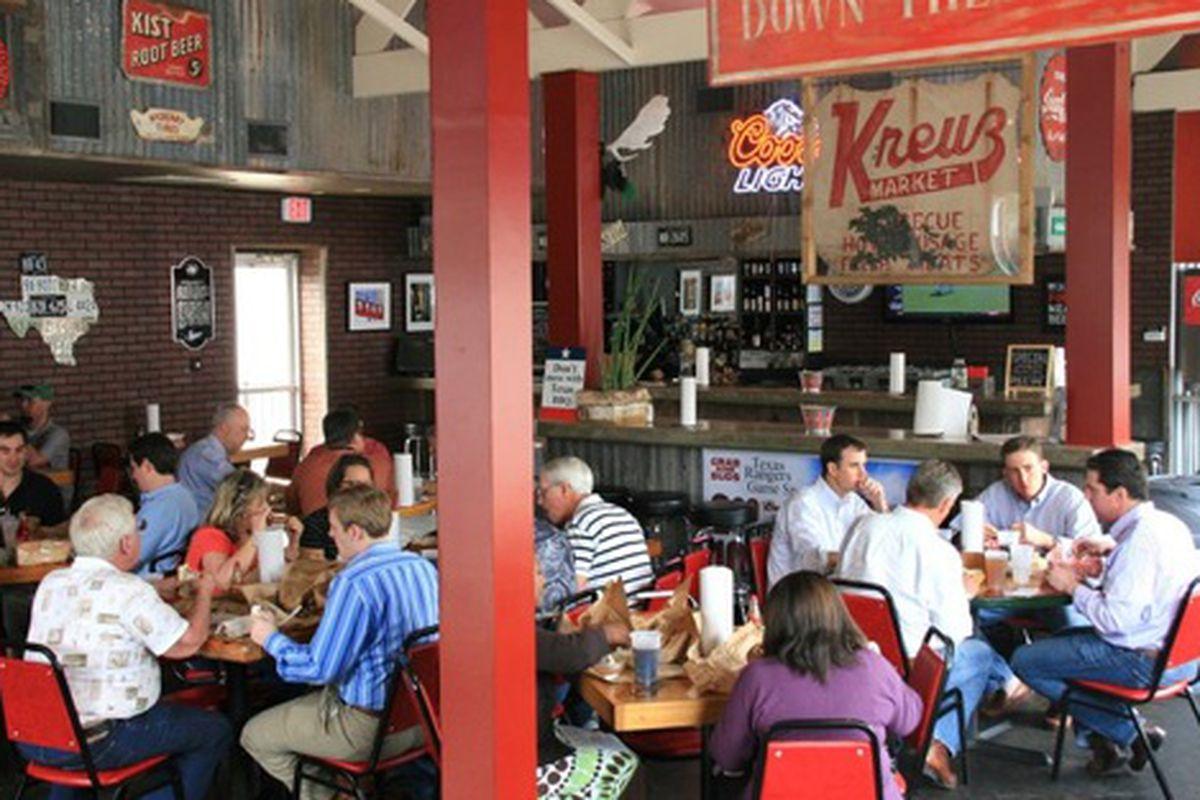 Lockhart Smokehouse has plenty of southern hospitality.