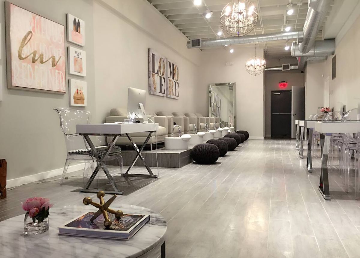 Luv Nail Shop Brings a Pinterest Perfect, Vegan Friendly Nail Salon ...