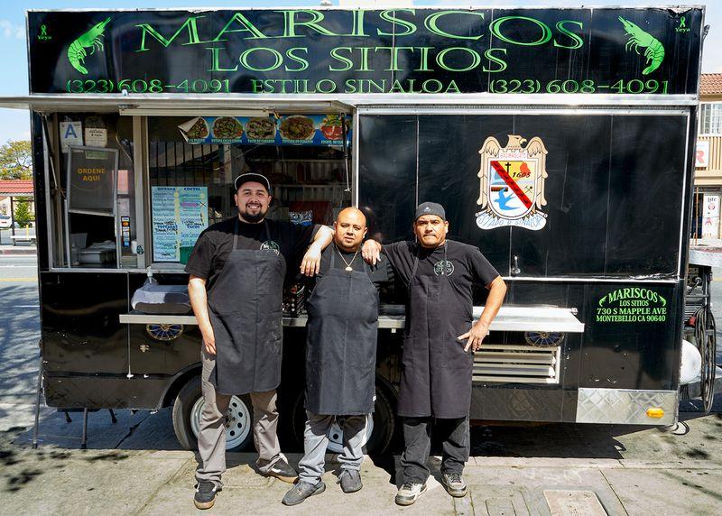Mariscos Los Sitios Mexican Breakfast