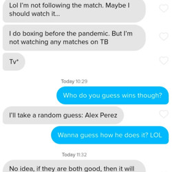 """Perez had the most """"random"""" guesses for sure."""