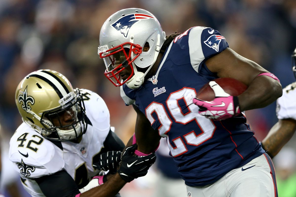 Could LeGarrett Blount be someone the Ravens want to add a dimension to the running game in 2014?