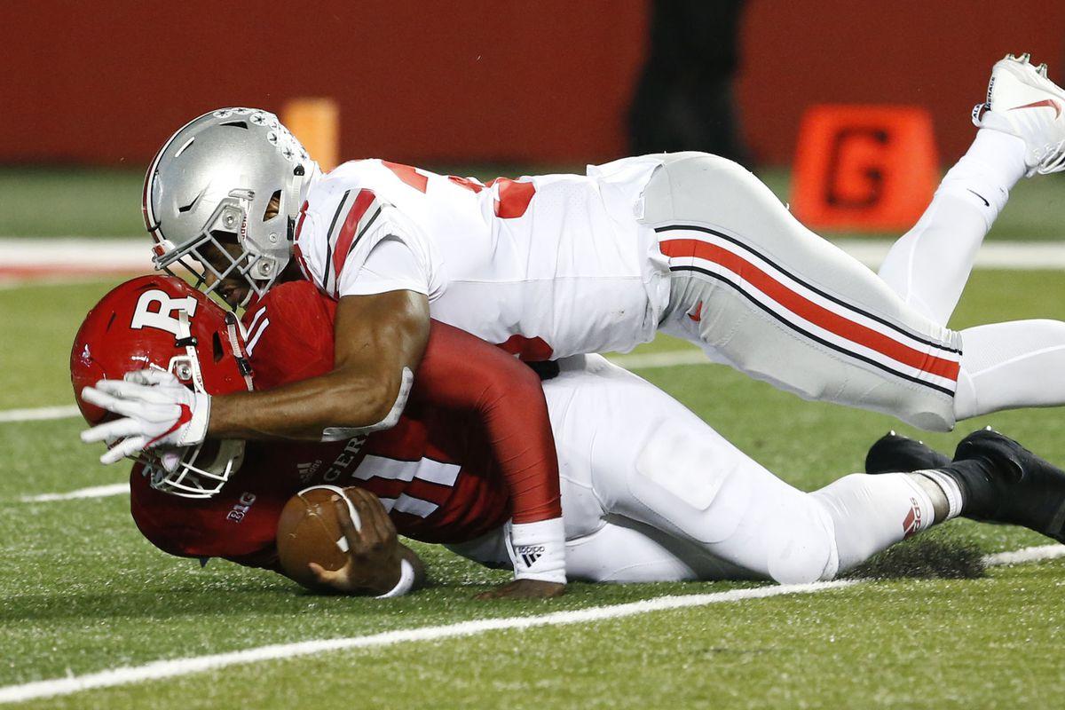 NCAA Football: Ohio State at Rutgers
