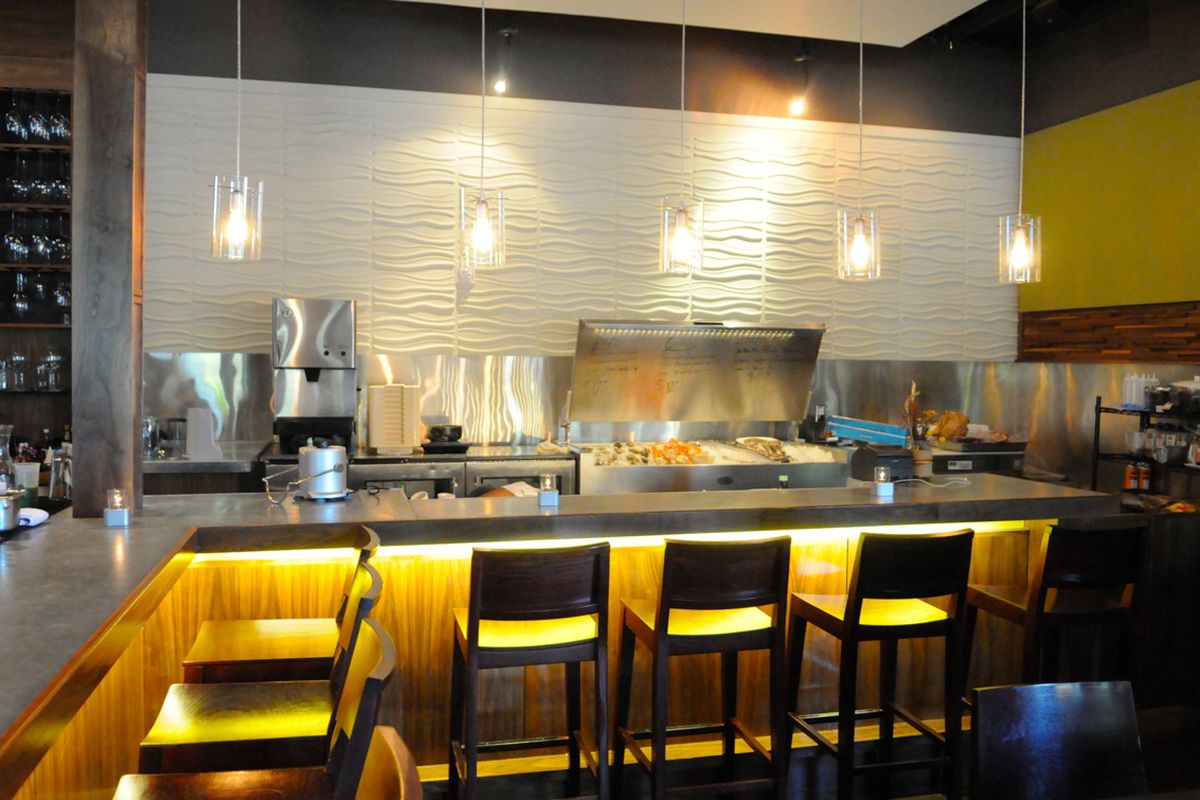Cove, the new raw bar in Houston within existing restaurant Haven