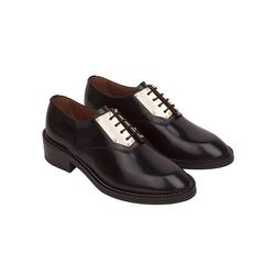 """<strong>Sandro</strong> Amoureuse Metal Plated Derby Shoe, <a href=""""http://us.sandro-paris.com/amoureuse-2.html?___store=sandro"""">$725</a>"""