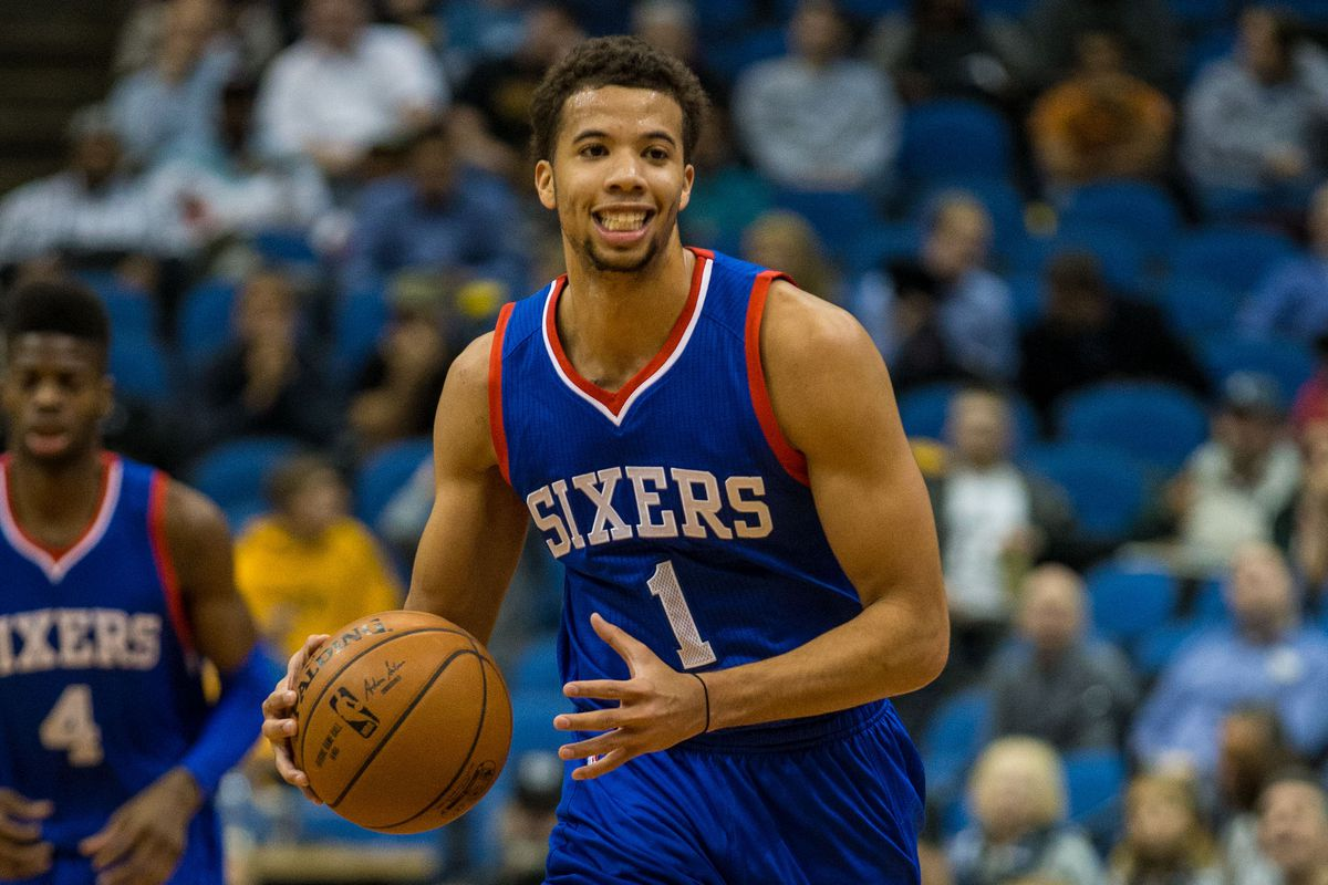 Michael Carter-Williams no longer needs to rely on Ellen episodes for happiness.