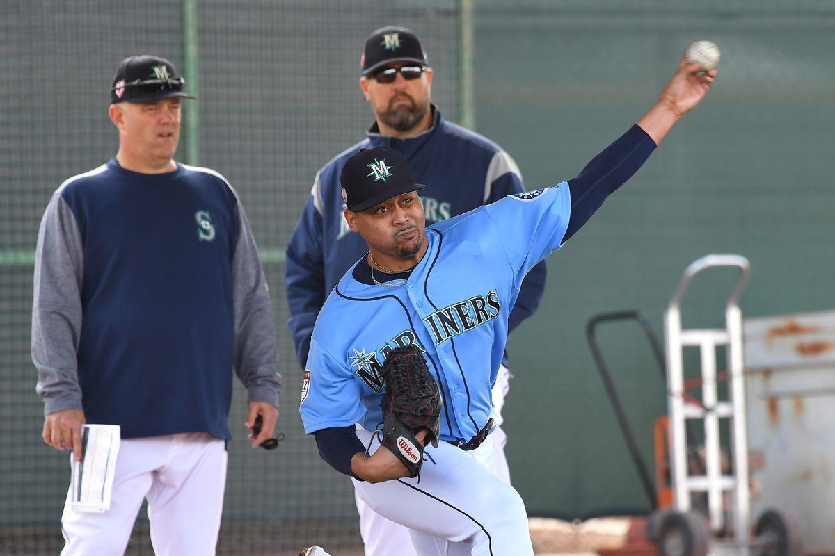 MLB: Seattle Mariners-Workout