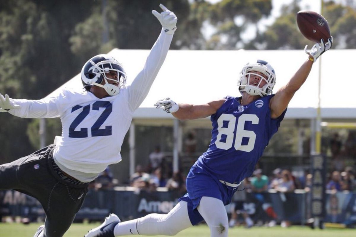 LA Rams CB Trumaine Johnson & WR Nelson Spruce