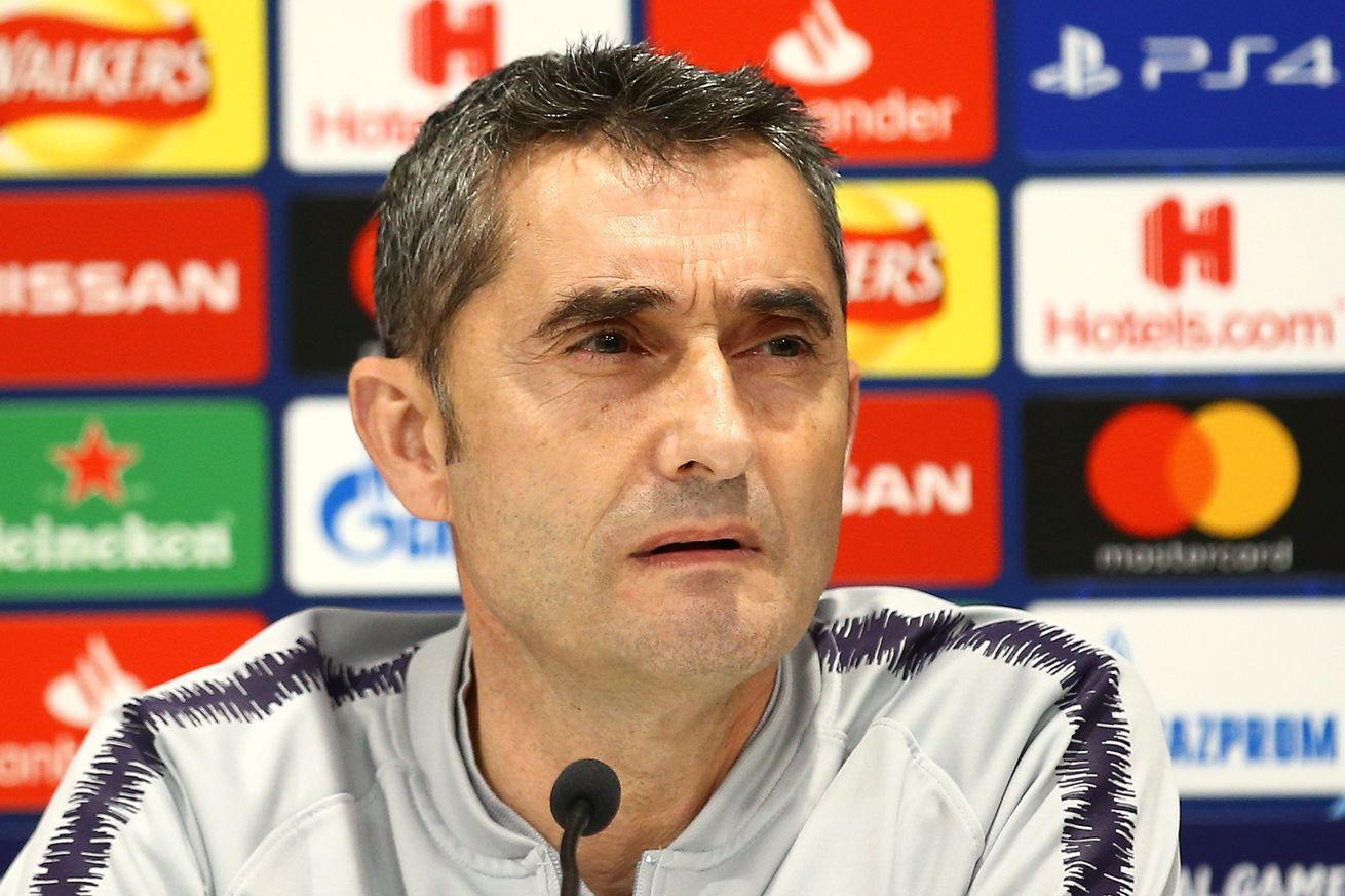 Valverde talks Dembele, UCL comebacks and Liverpool
