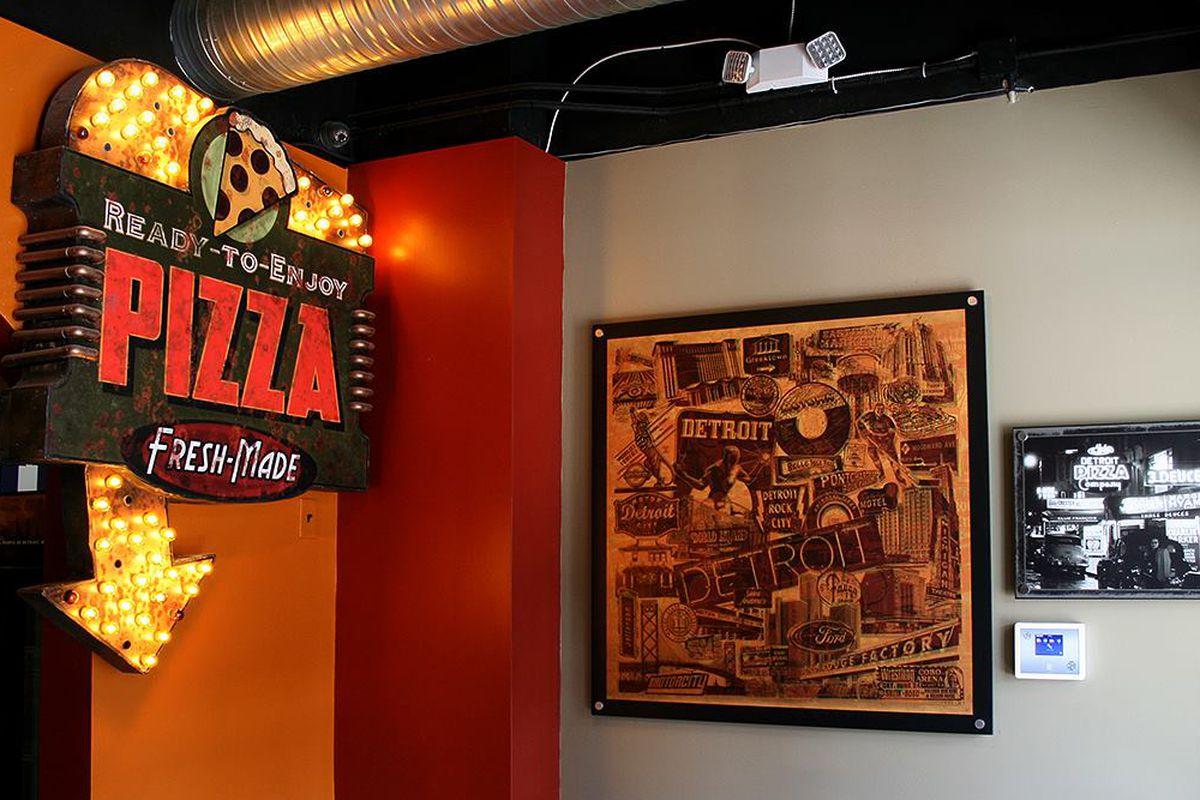 Detroit Pizza Company.
