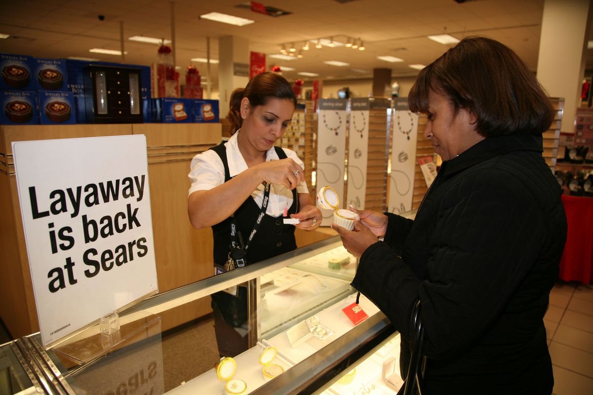 Sears revived its layaway program after the Great Recession hit.