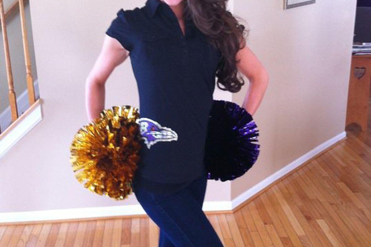 Brittany W. - Baltimore Ravens Cheerleader