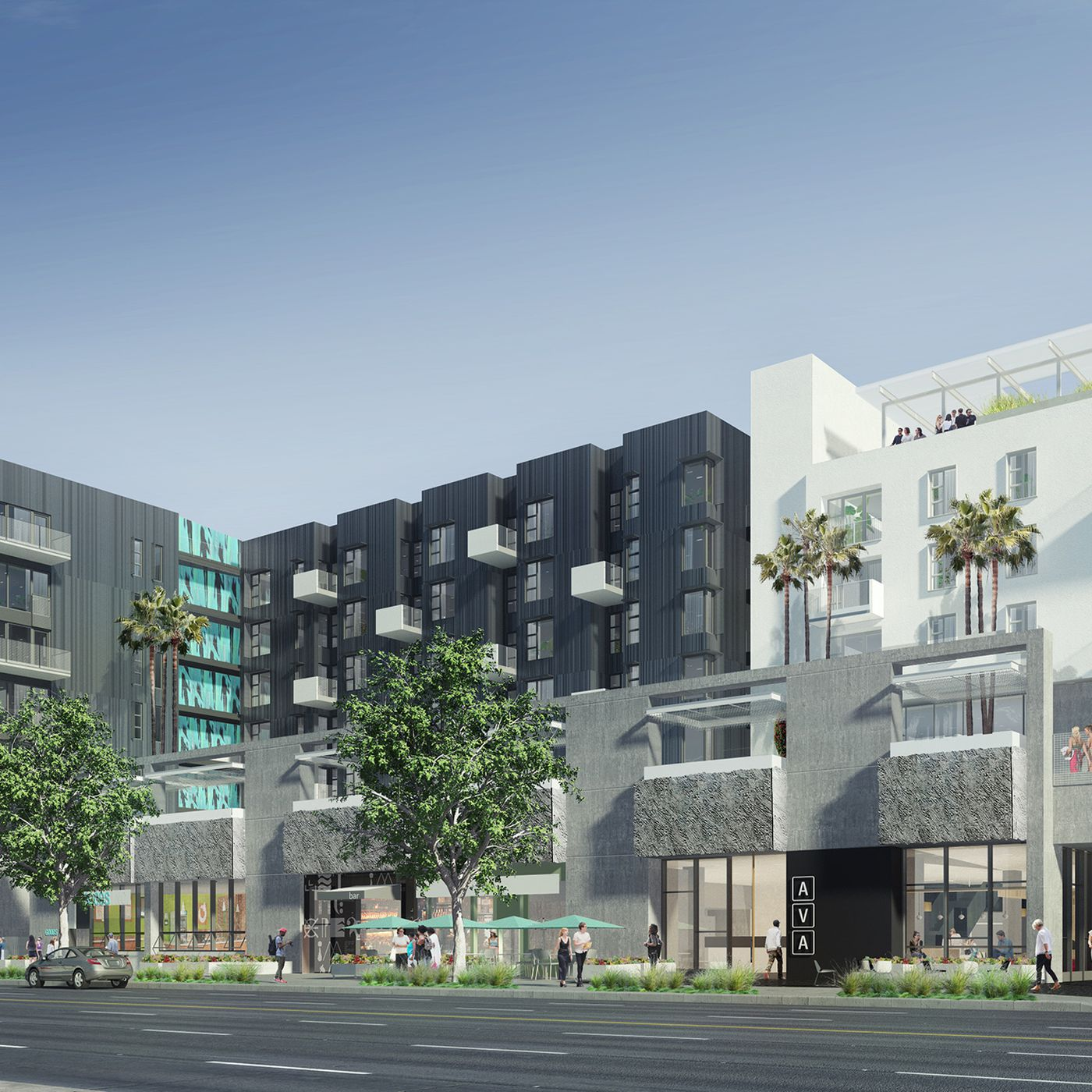 images avalonbay s mega development under construction in hollywood curbed la curbed la