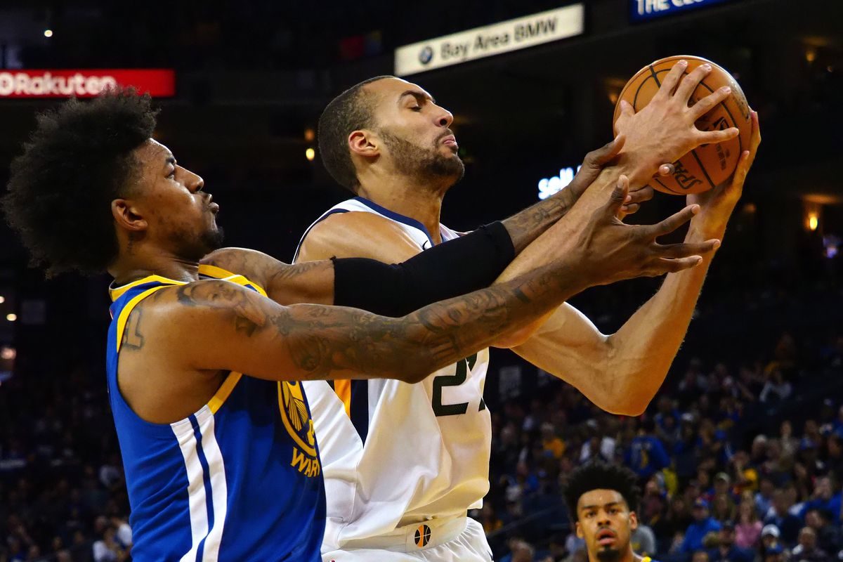 c0e555fc3 By the Stats  Utah Jazz beat sort-of Golden State Warriors - SLC Dunk
