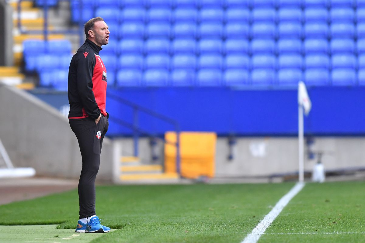 Bolton Wanderers v Grimsby Town - Sky Bet League Two