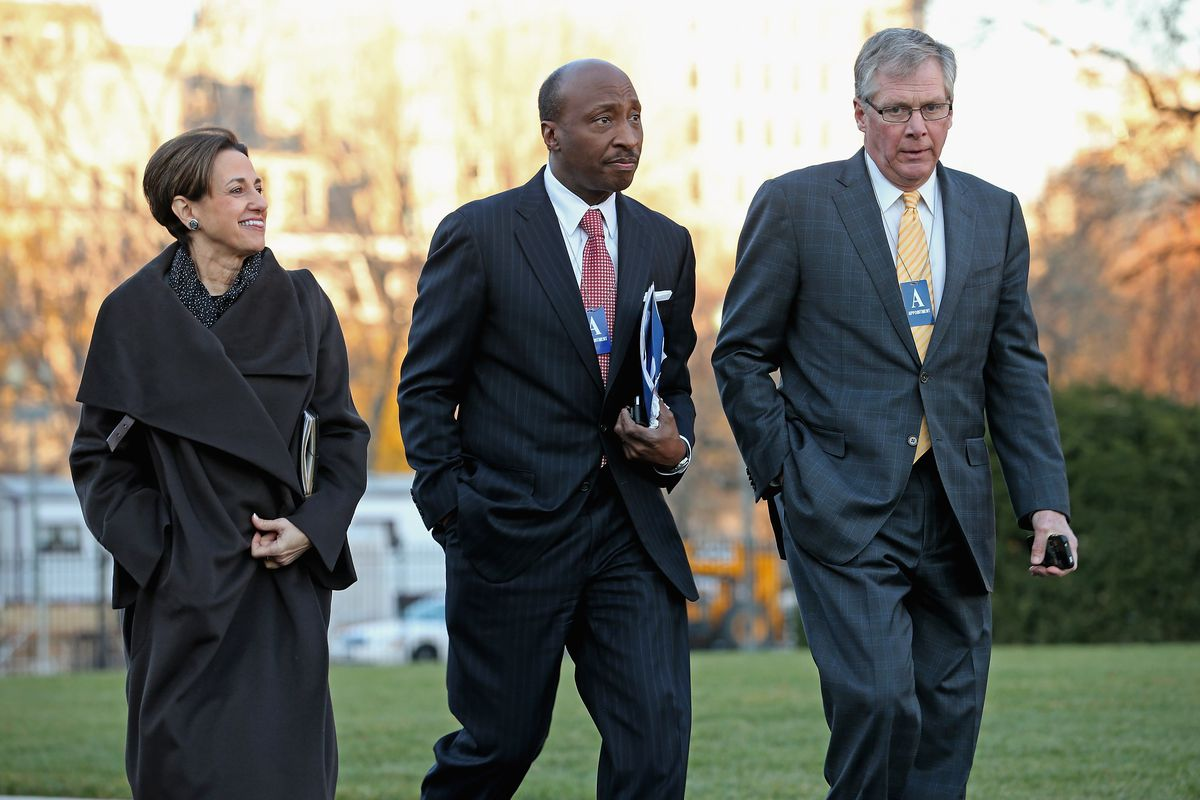Business Leaders Meet With President Obama At The White House