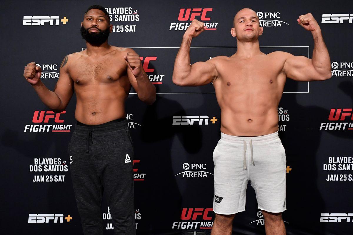 Junior dos Santos offers to spar with Curtis Blaydes before UFC Raleigh