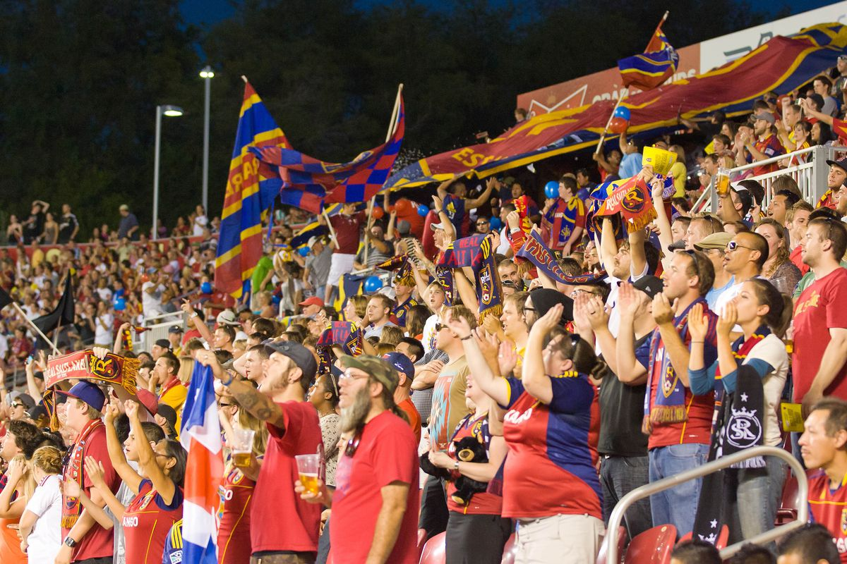 RSL fans got their money worth on Tuesday night as the team picked up a 2-0 win over Tauro FC in CCL action. Mandatory Credit: Russ Isabella-US PRESSWIRE
