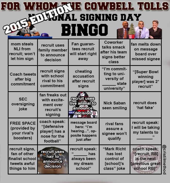 NSD bingo 2015