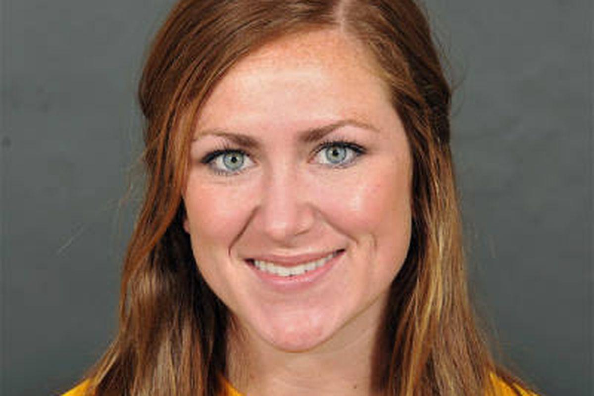 """<em>LSU's JR Forward/Midfielder Kellie Murphy; image via <a href=""""http://image.cdnl3.xosnetwork.com/pics31/400/VU/VUJGALQEEHKISLZ.20100506201700.jpg"""">LSUSports.net</a></em>"""