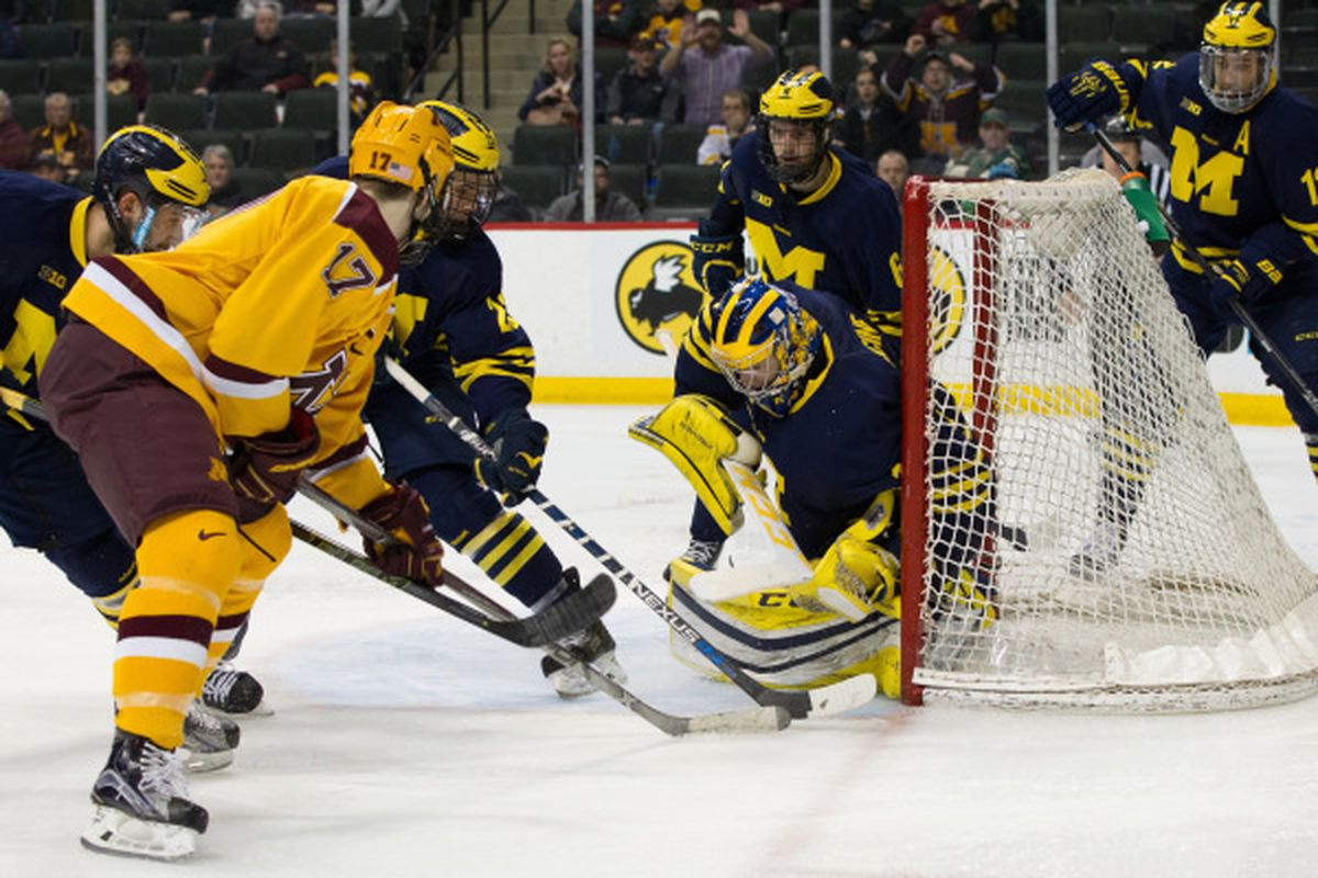 The Gophers season ends at the hands of the Wolverines