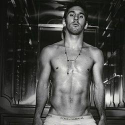"""<a href=""""http://www.swide.com/celebrities/gossip/lionel-messi-in-dolce-and-gabbana-underwear-shot-by-domenico-dolce-photo-gallery/2013/06/05"""">Lionel Messi,</a> Argentina"""