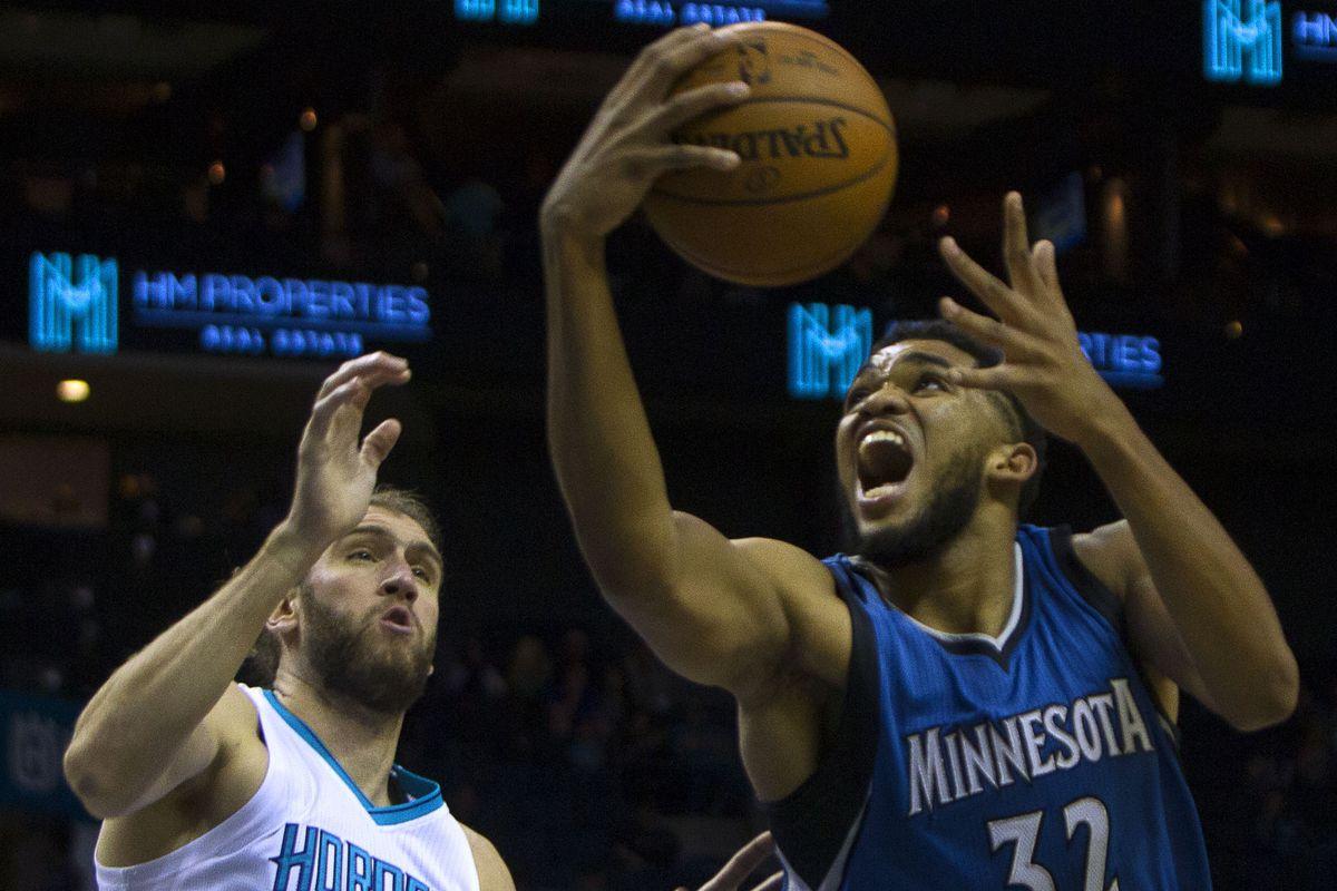 NBA: Preseason-Minnesota Timberwolves at Charlotte Hornets