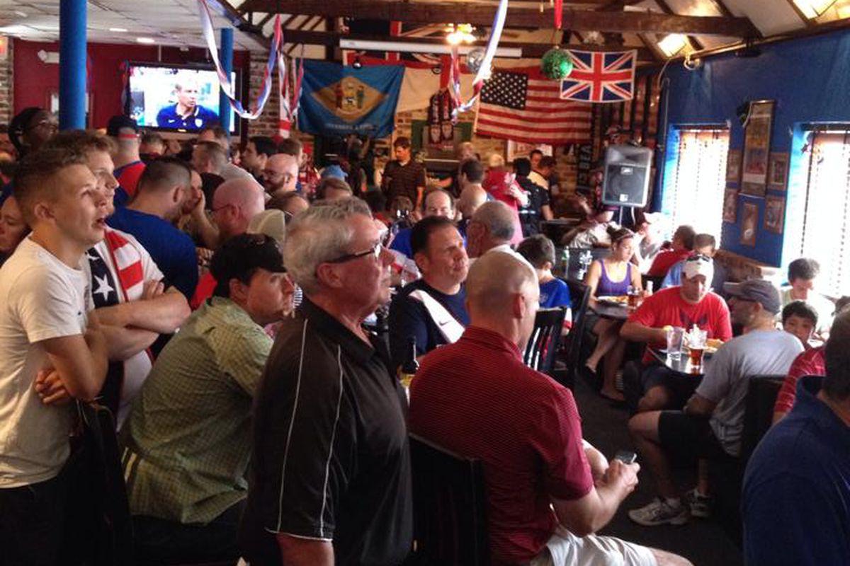 Stoney's Pub for a USMNT match
