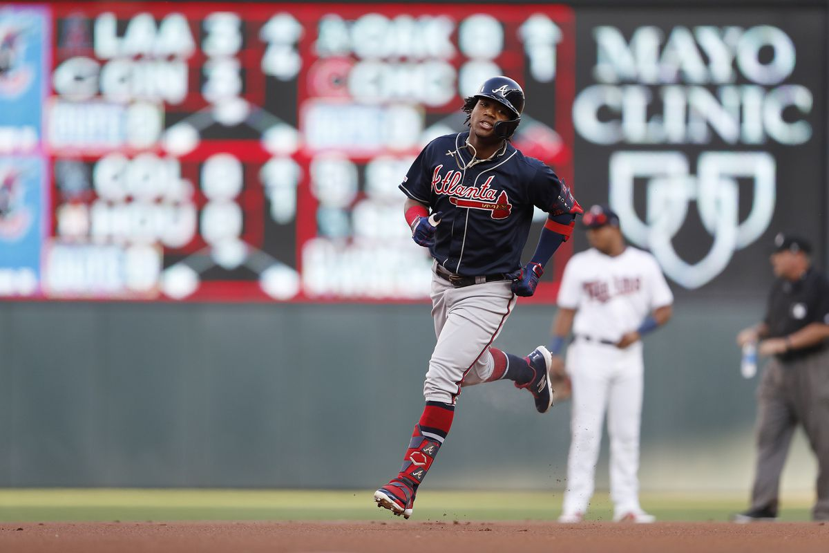 Minnesota Twins drop middle game of their series with Atlanta.