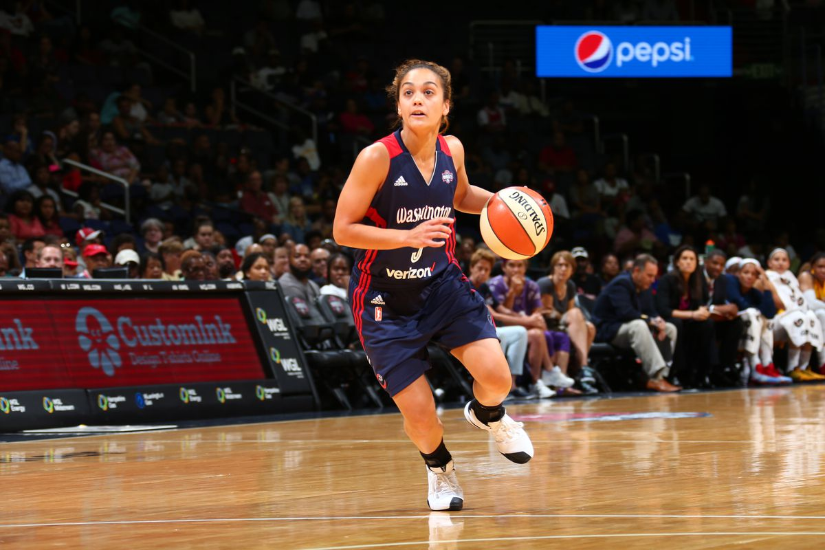 Leilani Mitchell has sparked the Mystics, though it's been too little, too late for this year.