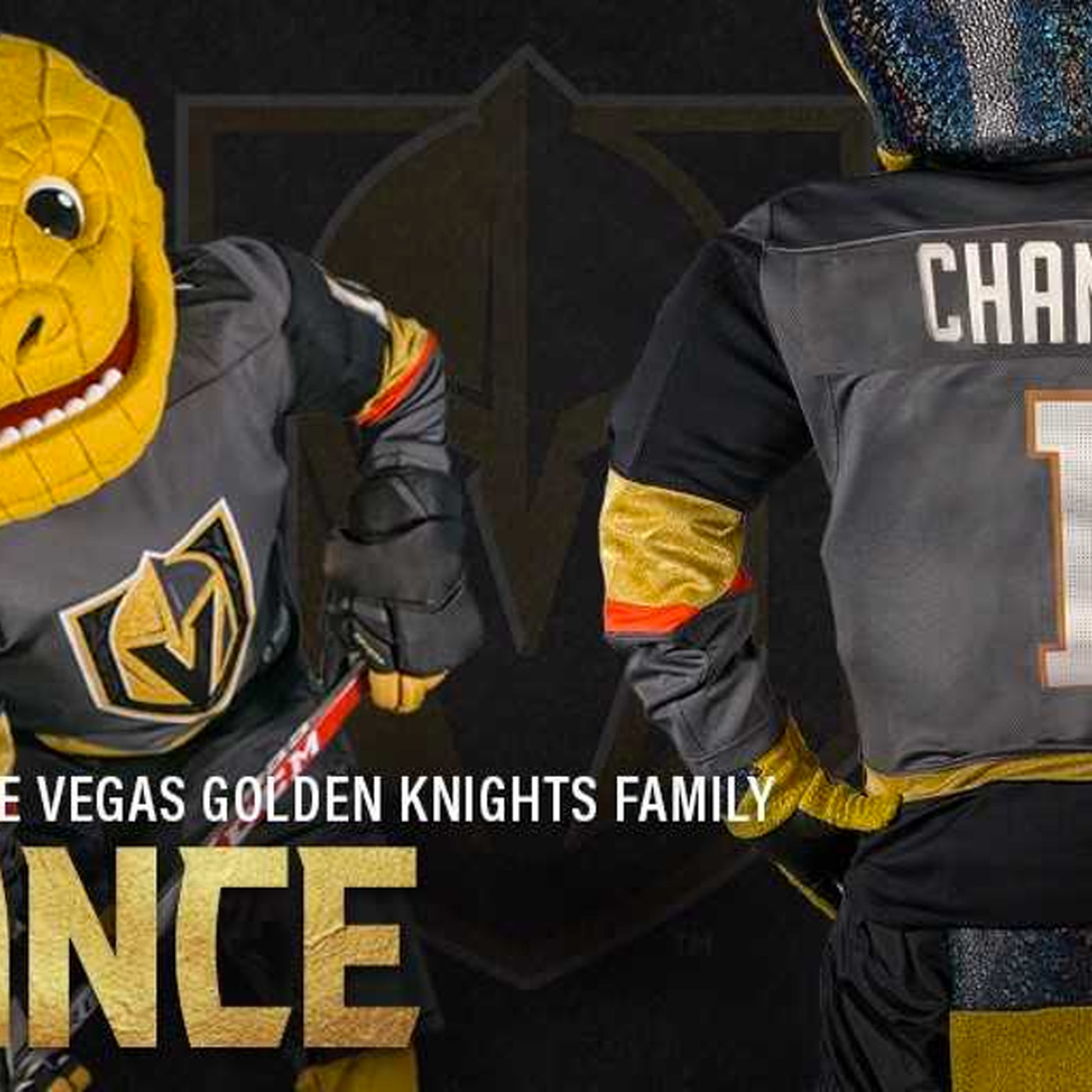 579045c56c70 Vegas Golden Knights' mascot is … not a knight? We have some questions -  SBNation.com