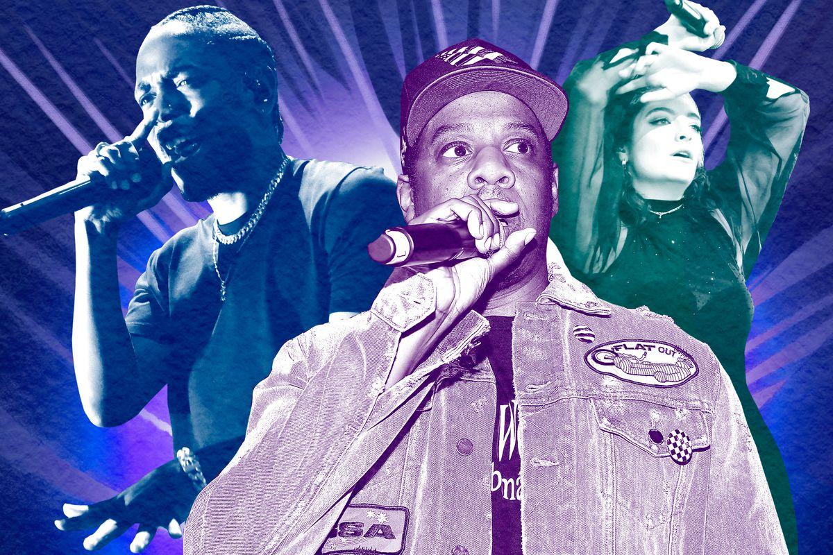 Kendrick Lamar, Jay-Z, and Lorde