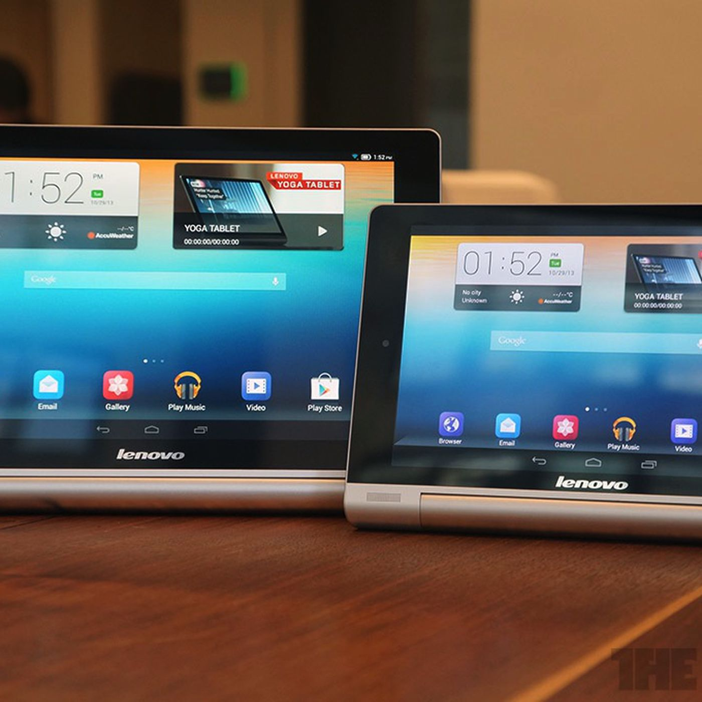 Lenovo expands Yoga range with twisting Android tablets