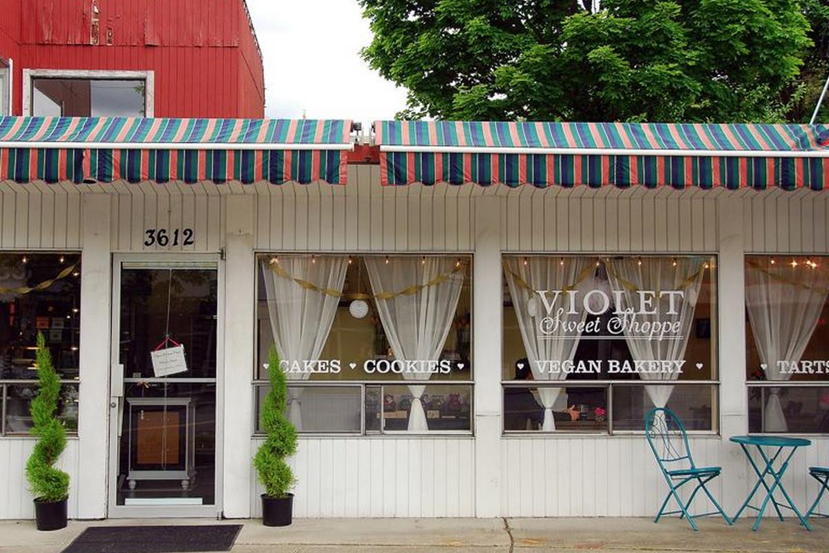 Violet Sweet Shoppe's bakery near U-Village