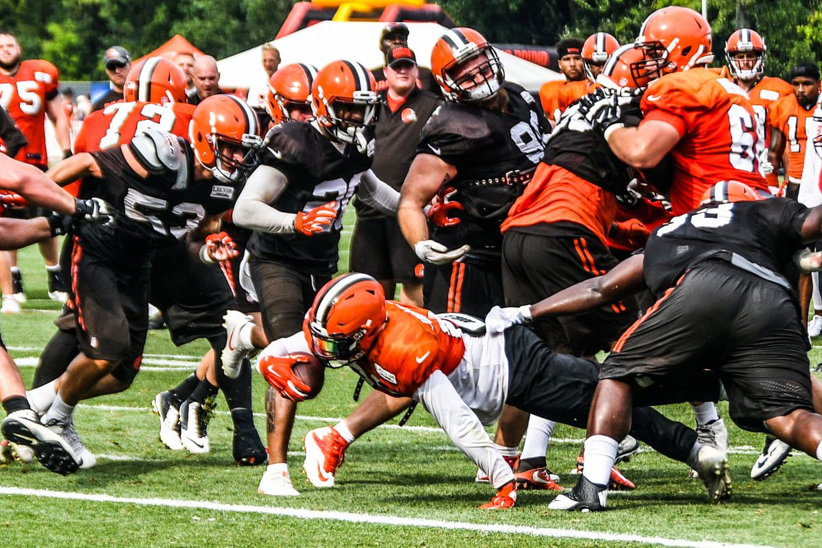Cleveland Browns First Depth Chart Of Training Camp