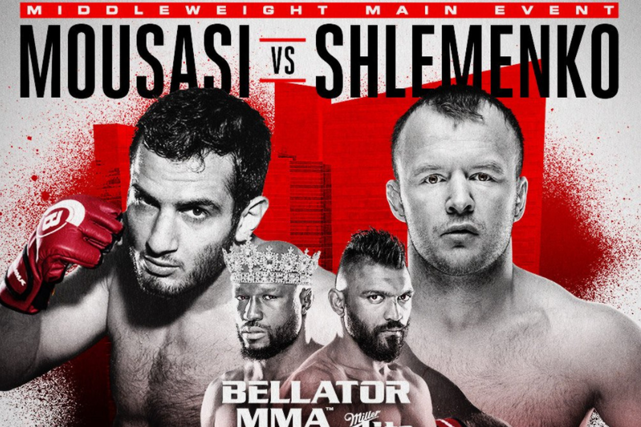 Gegard Mousasi vs. Alexander Shlemenko set to headline Bellator 185 on Oct. 20