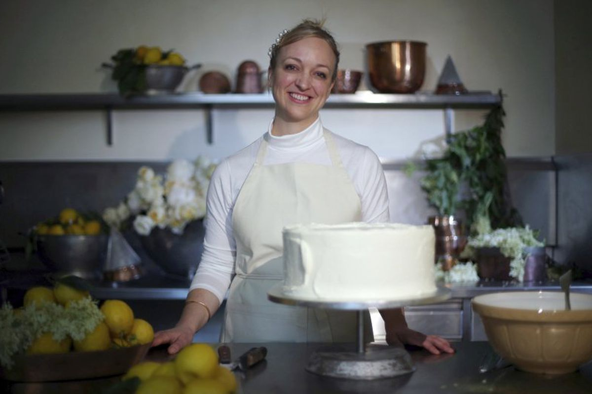 Claire Ptak, creator of Violet Cakes and chosen cake maker of Meghan Markle and Prince Harry for the royal wedding