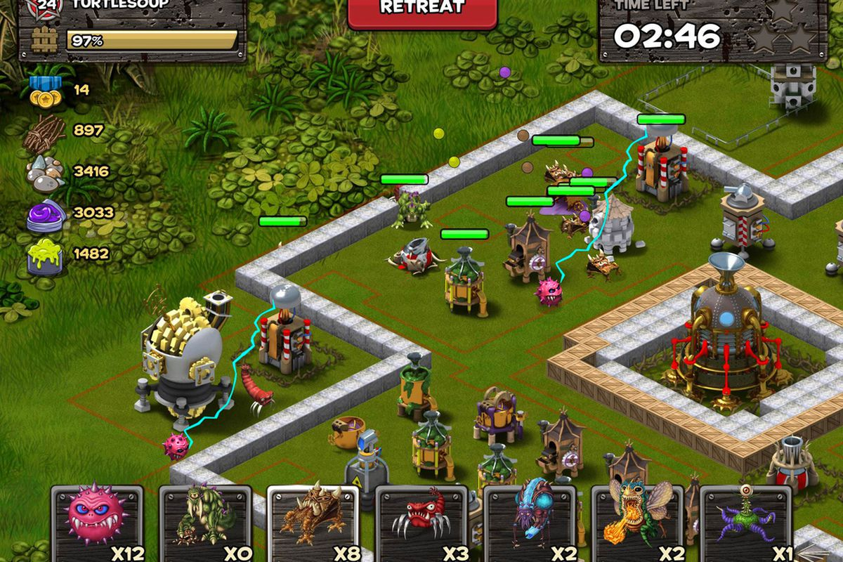 Kixeye's tower defense strategy game Backyard Monsters: Unleashed launched  on iOS devices today, the studio announced today. - Backyard Monsters: Unleashed Launches Today - Polygon