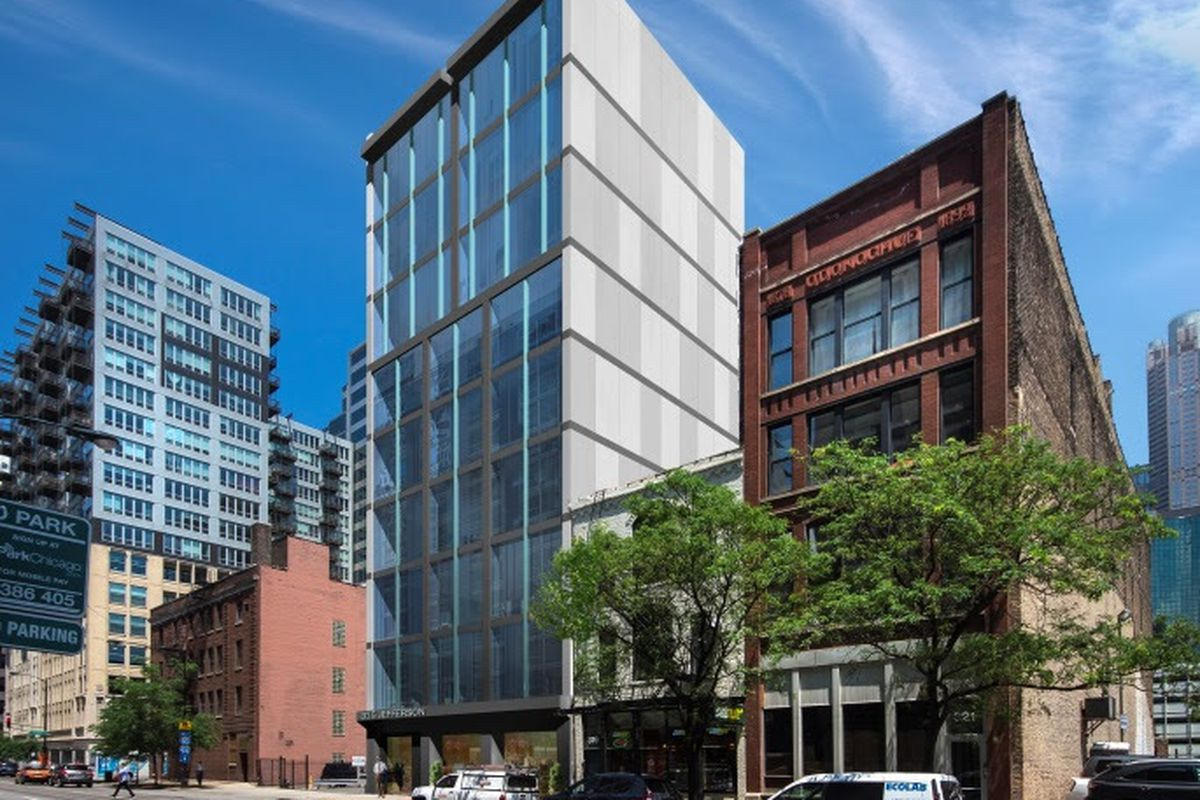 Ten Story Apartment Building Proposed For Chicago S Hot