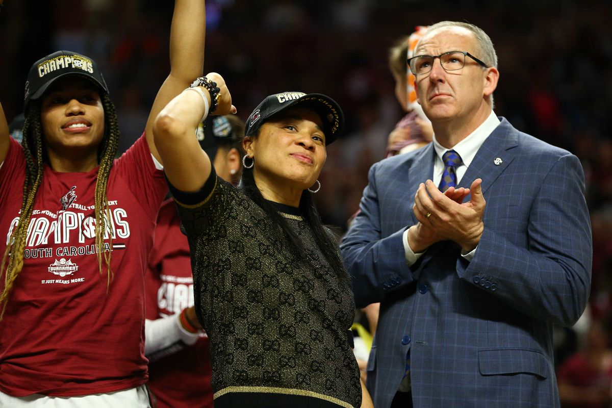 NCAA Womens Basketball: SEC Conference Tournament-Mississippi State vs South Carolina
