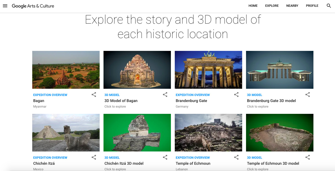 Google will help preserve endangered historical sites in virtual