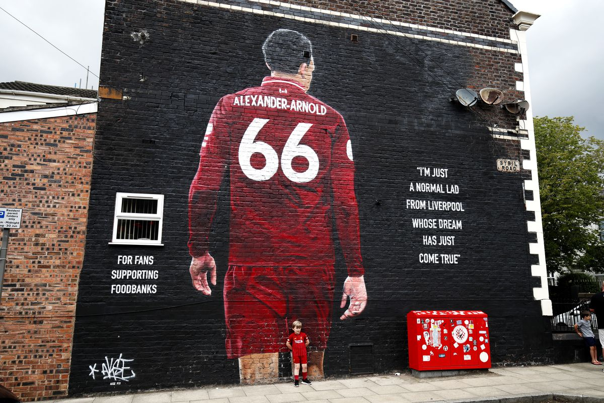 Artwork of Jordan Henderson in Liverpool