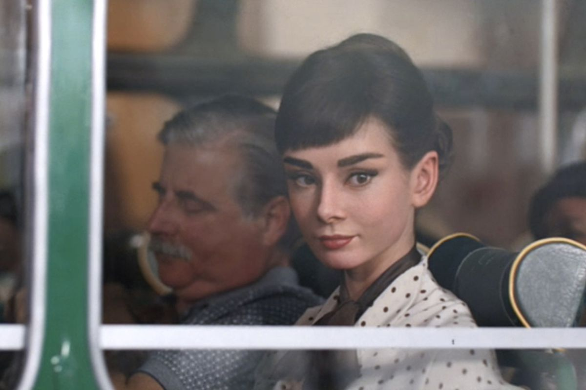 Astonishingly Real Audrey Hepburn Shills Chocolate In New Commercial