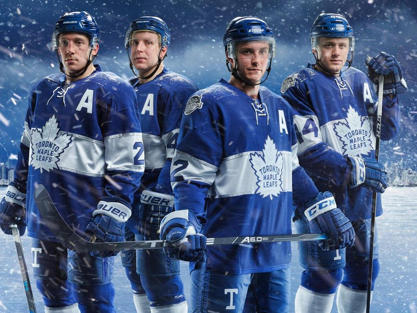 Toronto Maple Leafs 2017 Centennial Classic Jerseys Officially Revealed Pension Plan Puppets