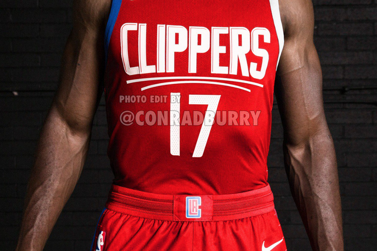 new style f3e8a 6fed3 SNEAK PEEK: Clippers' New Red Jerseys - Clips Nation