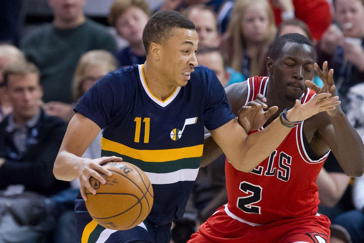 NBA: Chicago Bulls at Utah Jazz