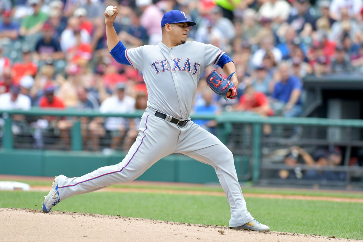 Texas Rangers v Cleveland Indians - Game One