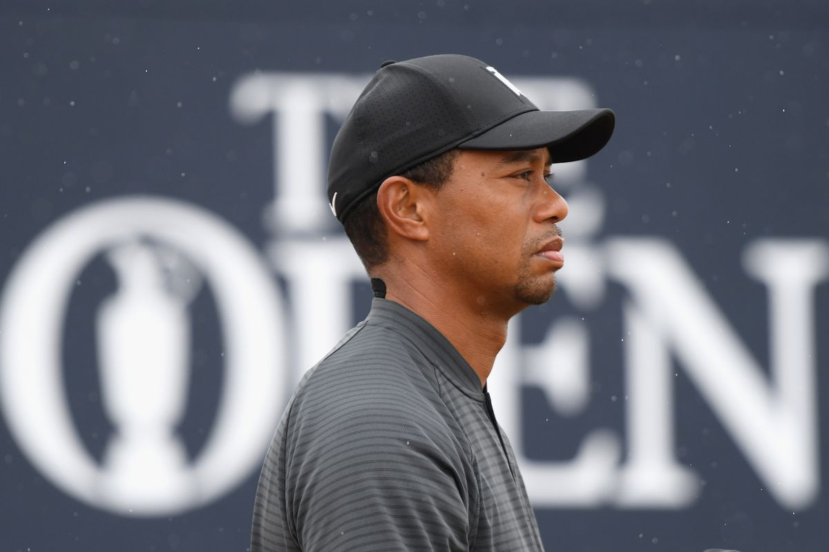 Tiger has made the cut and that s progress at the majors. Photo by Harry  How Getty Images 0cb6cb1facc